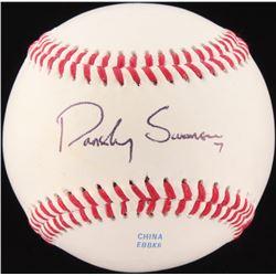 Dansby Swanson Signed OL Baseball (JSA COA)