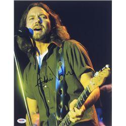 Eddie Vedder Signed Pearl Jam 11x14 Photo (PSA Hologram)