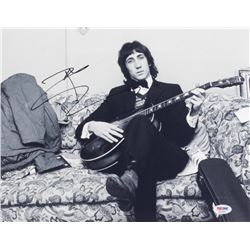 Pete Townshend Signed 11x14 Photo (PSA COA)