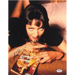 "Uma Thurman Signed ""Pulp Fiction"" 11x14 Photo (PSA COA)"