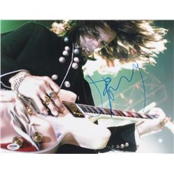 Joe Perry Signed Aerosmith 11x14 Photo (PSA COA)