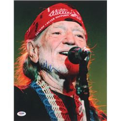 Willie Nelson Signed 11x14 Photo (PSA COA)