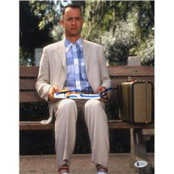 "Tom Hanks Signed ""Forrest Gump"" 11x14 Photo (Beckett COA)"
