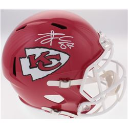Travis Kelce Signed Chiefs Full-Size Speed Helmet (Radtke COA)