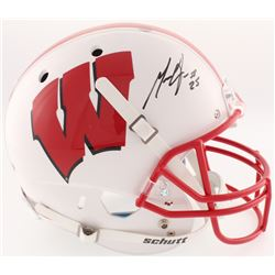 Melvin Gordon Signed Wisconsin Badgers Full-Size Helmet (Radtke COA)