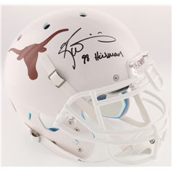 "Ricky Williams Signed Texas Longhorns Full-Size On-Field Helmet Inscribed ""98 Heisman"" (Radtke COA)"