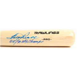 "Boog Powell Signed Rawlings Pro Baseball Bat Inscribed ""66/70 W.S. Champs"" (Jersey Source COA)"