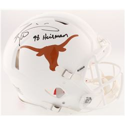 "Ricky Williams Signed Texas Longhorns Full-Size On-Field Speed Helmet Inscribed ""98 Heisman"" (Radtke"