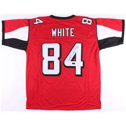 Roddy White Signed Falcons Jersey (Radtke COA)