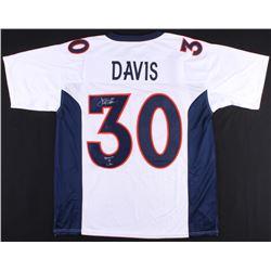 "Terrell Davis Signed Broncos Jersey Inscribed ""Bronco 4 Life"" (Radtke COA)"
