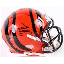 Chad Johnson Signed Bengals Speed Mini-Helmet (Radtke COA)