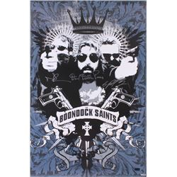 "Norman Reedus, Sean Patrick Flanery  Della Rocco Signed ""The Boondock Saints"" 24x36 Movie Poster Pri"