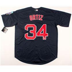 "David Ortiz Signed Red Sox Jersey Inscribed ""2013 WS MVP"" (Steiner COA, MLB Hologram  Fanatics Holog"