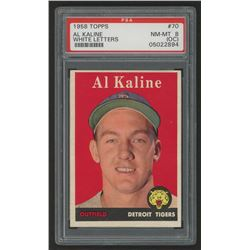 1958 Topps #70A Al Kaline (PSA 8) (OC)