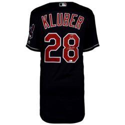 "Corey Kluber Signed Indians Jersey Inscribed ""14/17 AL CY"" (Fanatics Hologram)"