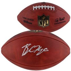 Baker Mayfield Signed  The Duke  Official NFL Game Football  (Fanatics Hologram)