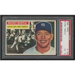 1956 Topps #135 Mickey Mantle (PSA 5)