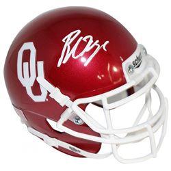 Baker Mayfield Signed Oklahoma Sooners Mini Helmet (Steiner COA)