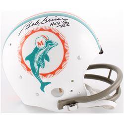 Bob Griese Signed Dolphins Throwback TK Full-Size Suspension Helmet Inscribed  HOF '90  (JSA COA)