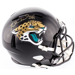 Fred Taylor Signed Jaguars Full-Size Speed Helmet (Beckett COA)