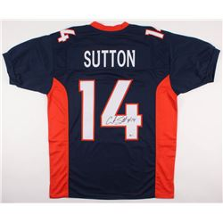 Courtland Sutton Signed Broncos Jersey (Beckett COA)
