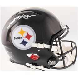 Antonio Brown Signed Steelers Full-Size On-Field Speed Helmet (JSA COA)