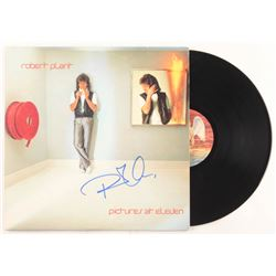 "Robert Plant Signed ""Pictures At Eleven"" Vinyl Record Album Sleeve (REAL LOA)"