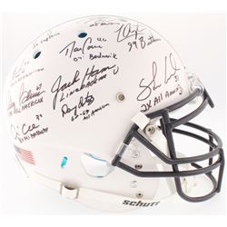 Linebacker U Penn State Nittany Lions Full-Size On-Field Helmet Team-Signed by (10) with Paul Poslus