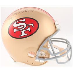 Joe Montana Signed 49ers Full-Size On-Field Helmet (JSA COA)