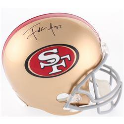 Frank Gore Signed 49ers Full-Size Helmet (Beckett COA)