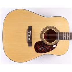 Charley Pride Signed Acoustic Guitar (JSA COA)