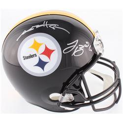 Antonio Brown  Le'Veon Bell Signed Steelers Full-Size Helmet (JSA COA)