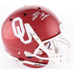 Baker Mayfield Signed Oklahoma Sooners Full-Size Helmet (Beckett COA)