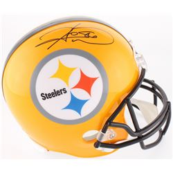 Hines Ward Signed Steelers Full-Size Helmet (JSA COA)