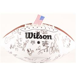 2000 Cardinals Signed Official NFL Football Signed by (30) with Aeneas Williams, Pat Tillman, Jake P