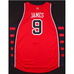 LeBron James Signed LE Team USA Jersey (UDA COA)
