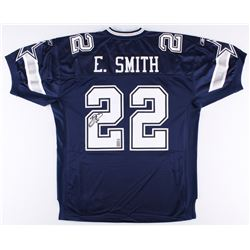 Emmitt Smith Signed Cowboys Jersey (Smith Hologram  Radtke COA)