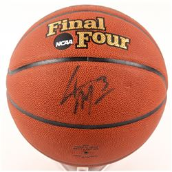 Adam Morrison Signed NCAA Final Four Basketball (Beckett Hologram)