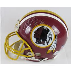 LaVar Arrington Signed Redskins Authentic On-Field Full-Size Helmet (JSA Hologram)