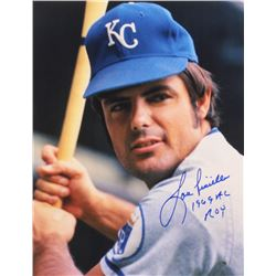 "Lou Piniella Signed Royals 11x14 Photo Inscribed ""1969 AL ROY"" (Mead Chasky Hologram)"