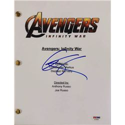 "Chris Hemsworth Signed ""Avengers: Infinity War"" Full Movie Script (PSA COA)"