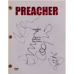 """Dominic Cooper, Ruth Negga  Joe Gilgun """"Preacher"""" Full Pilot Script (PSA LOA)"""