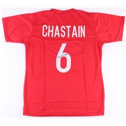 Brandi Chastain Signed Team USA Jersey (JSA COA)