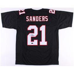 Deion Sanders Signed Falcons Jersey (Radtke COA)