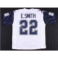 Emmitt Smith Signed Cowboys Thanksgiving Jersey (Prova  Radtke Hologram)