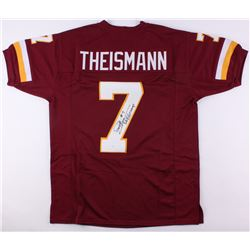 "Joe Theismann Signed Redskins Jersey Inscribed ""SB XVII Champs"" (JSA COA)"
