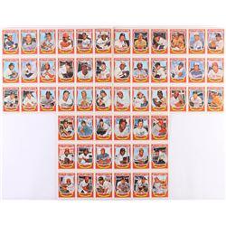 Complete Set of (54) 1973 Kelloggs Uncut Baseball Cards