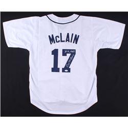 "Denny McLain Signed Tigers Jersey Inscribed ""31-6, 1968"" (JSA COA)"