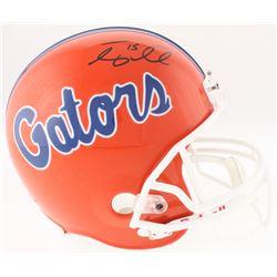 Tim Tebow Signed Florida Gators Full-Size Helmet (Tebow COA)