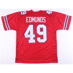 Tremaine Edmunds Signed Bills Jersey (JSA COA)